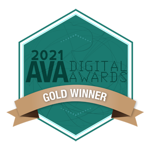 2021 AVA Digital Awards: Gold Winner